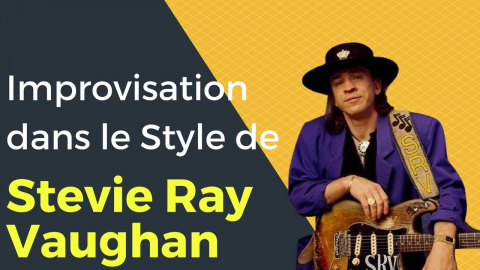 Improvisation de Blues dans le Style de Stevie Ray Vaughan